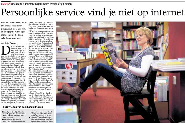 Dit is het geheim van Boekhandel Polman