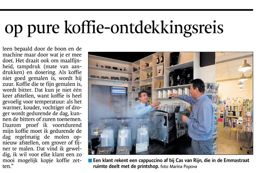 Met Cas van Rijn op koffie ontdekkingsreis