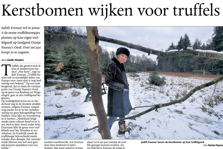 Een truffelgaard in Nederland