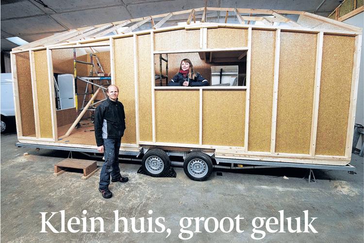 Marjolein bouwt een tiny house in Bemmel