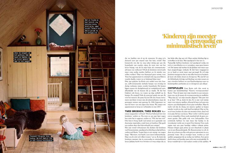 Ouders van Nu – Karin woont met haar gezin in een tiny house